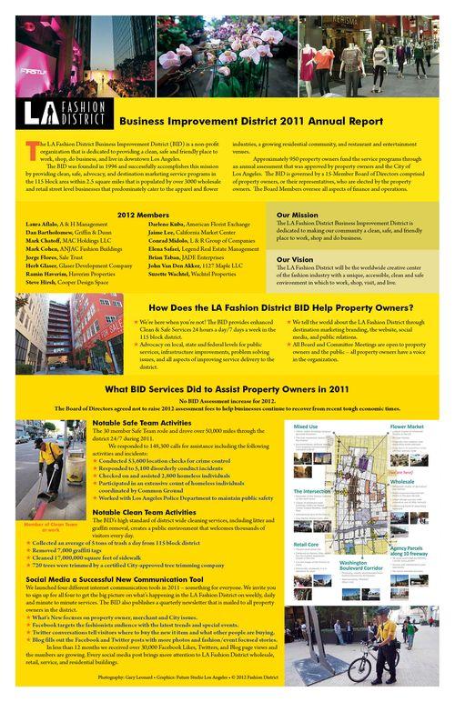 Fashion District Annual Report