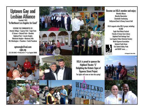 Uptown Gay & Lesbian Alliance Ad