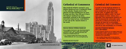 LA Conservancy: Wilshire Blvd. (bus card)